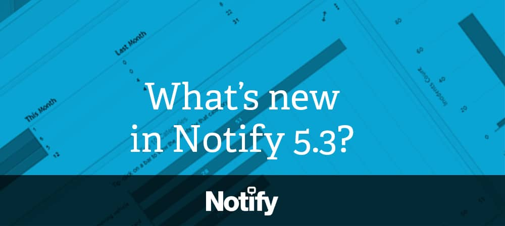 text What's new in Notify 5.3?