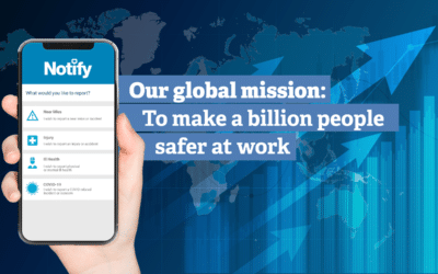 Notify's mission to make a billion people safer at work just got a boost