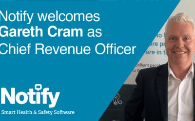 Gareth Cram joins Notify Technology as CRO